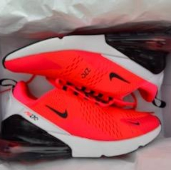 bright red nikes